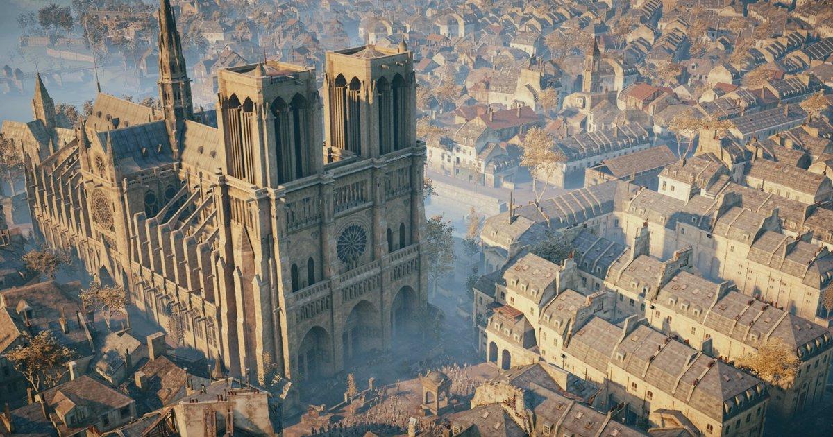 Jogo pode ajudar na reconstrução da catedral de Notre-Dame