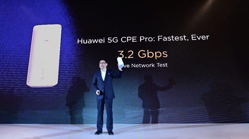 Aparelho 5G da Huawei