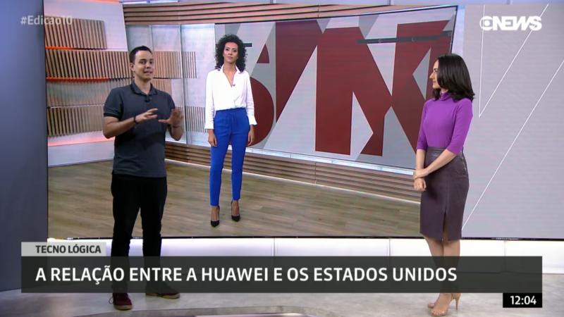 Thássius Veloso na GloboNews