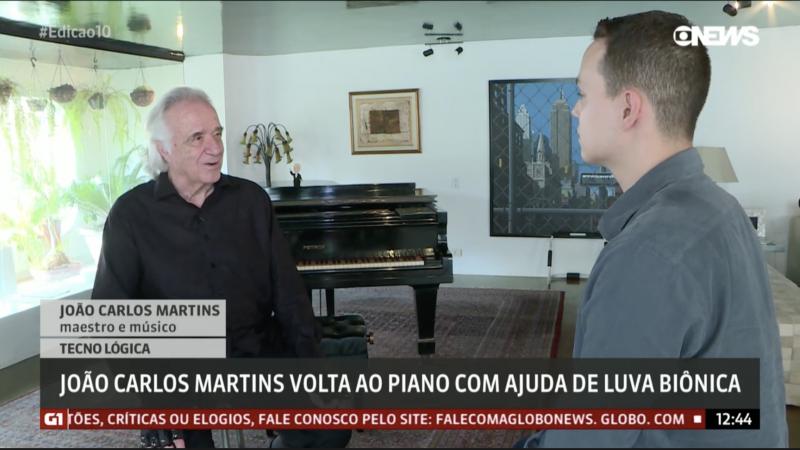 João Carlos Martins e Thássius Veloso